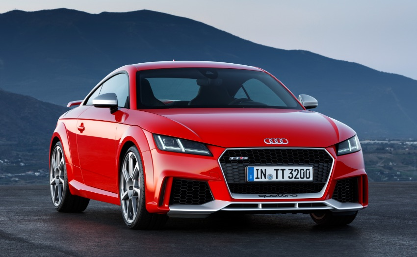 Audi TT RS disapproved