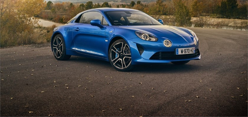 Alpine A 110 prova test commenti
