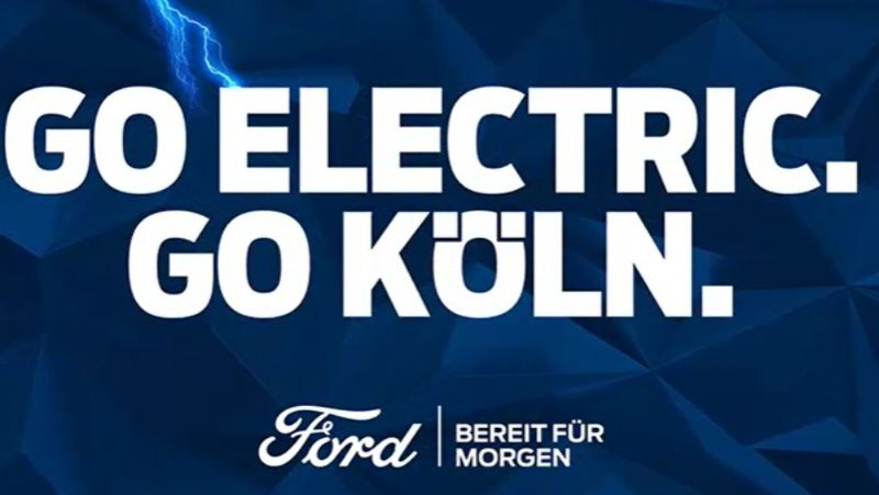 Ford Go Electric Koln
