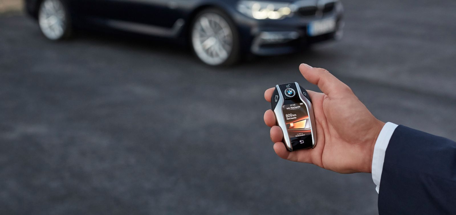 BMW Serie 5 new key