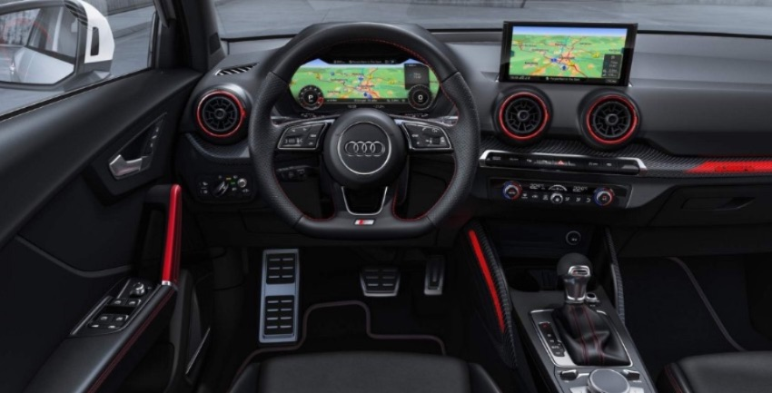 Audi Sq2 interni