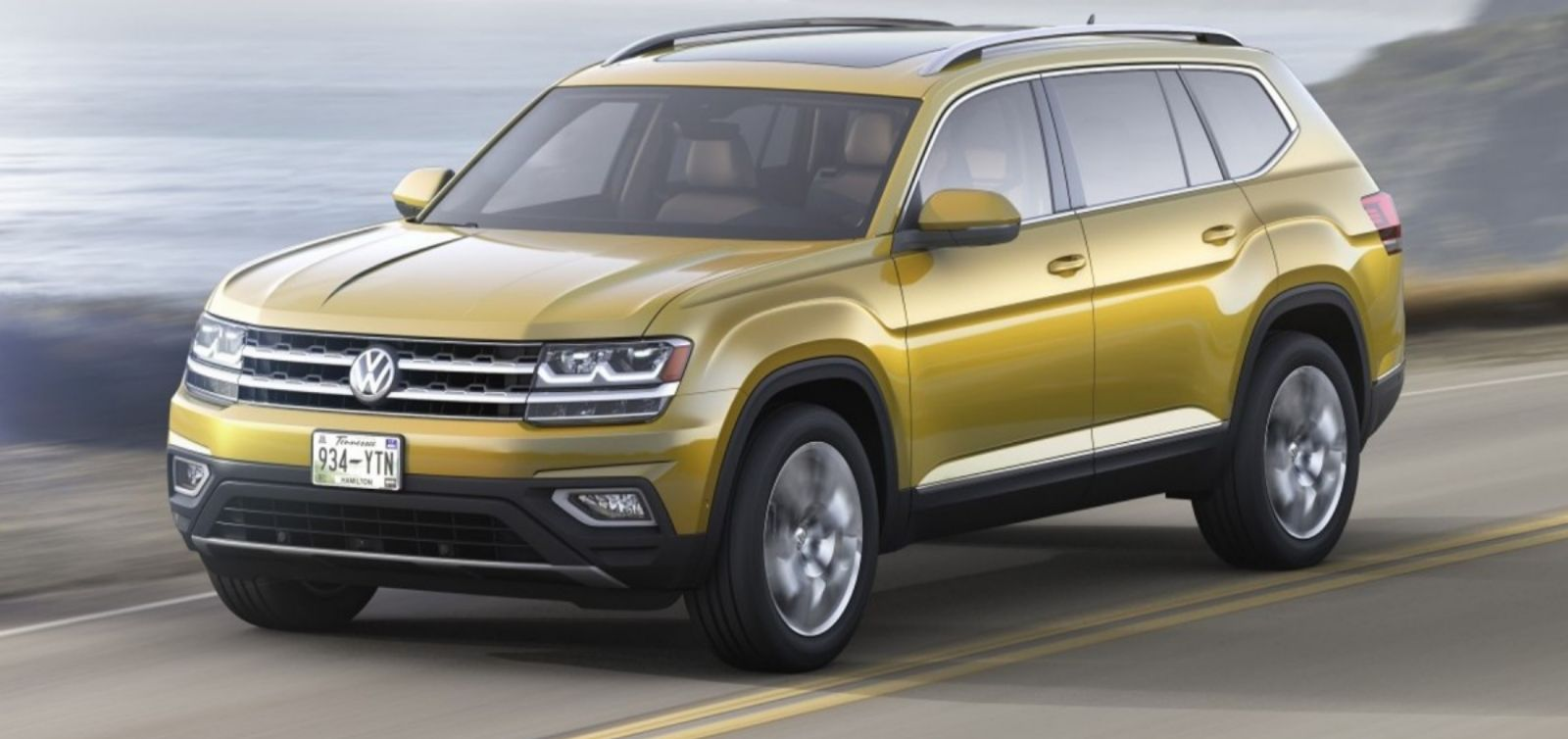 Volkswagen Atlas salone dell'automobile di Los Angeles