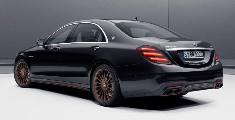 Mercedes Classe S AMG Final Edition V12 S 65