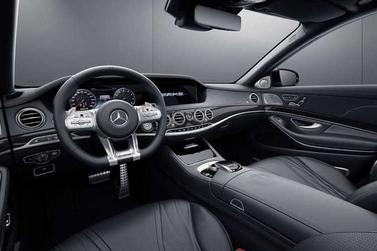 Mercedes S65 AMG Final Edition 2019 interni interior